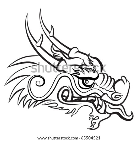 Dragon Heads - Download Free Vector Art, Stock Graphics & Images