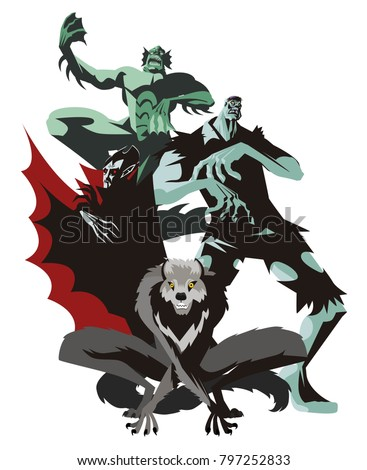 evil monsters group