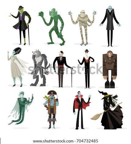 evil monsters villains