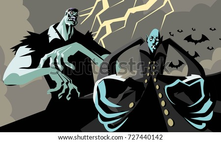 evil two monsters vampire and