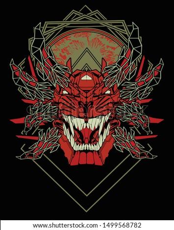 evil versus angel sacred geometry