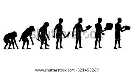 evolution of man and technology