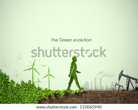 evolution of the concept of greening of the world
