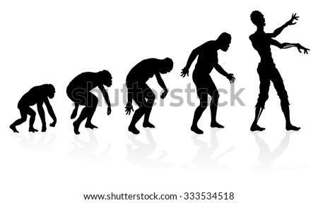 evolution of the zombie great