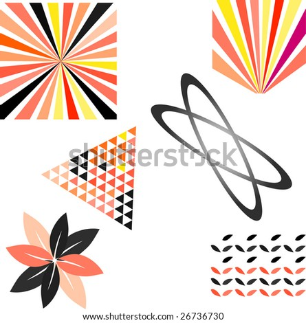 example - stock vector