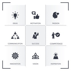 EXCELLENCE ICON SET