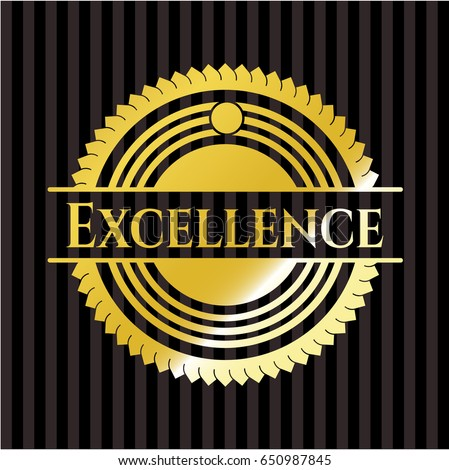 excellence shiny badge