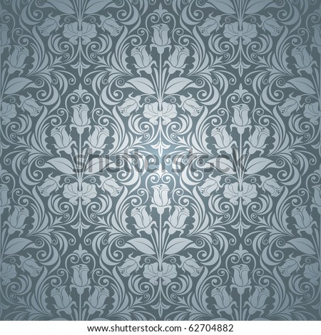excellent seamless floral background with roses