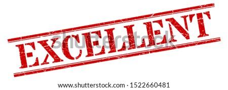 excellent stamp. excellent rectangular red stencil font stripe sign