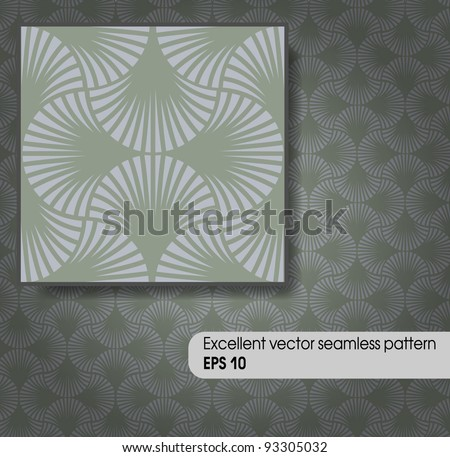 Excellent vector seamless pattern. EPS 10