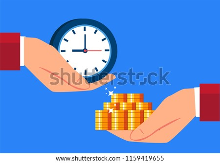 Exchange time with money