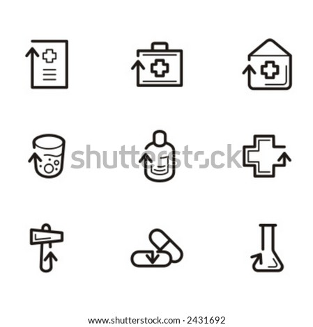 Exclusive Series of Arrow Icons. Check my portfolio for much more of this series as well as thousands of similar and other great vector items.