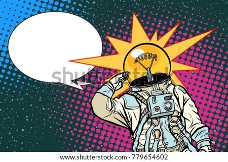 executive astronaut head light