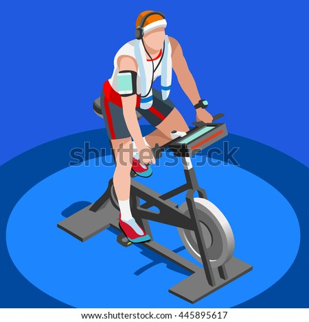 exercise bike bicycle sportsman