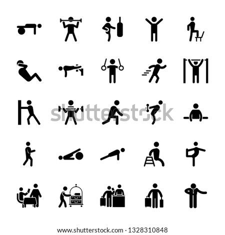 Exercise Pictograms Vector Pack