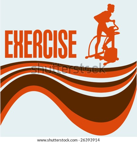 Exercise Vector Flyer