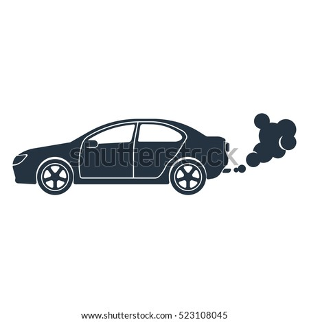 Vector Images Illustrations And Cliparts Exhaust Co2 Isolated