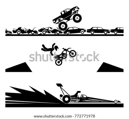 exhibiting adrenaline sports....
