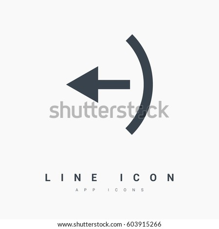 exit isolated minimal icon