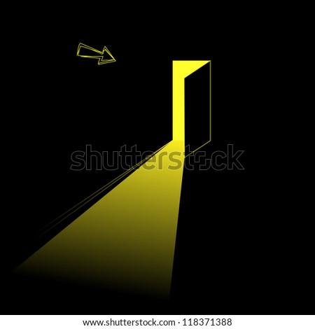 exit light concept