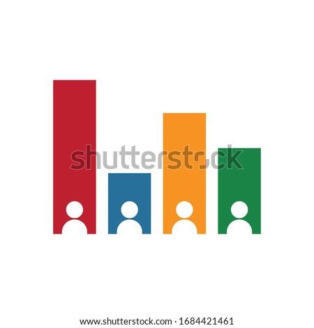 Exit polling icon. Simple vector illustration. Stock photo ©
