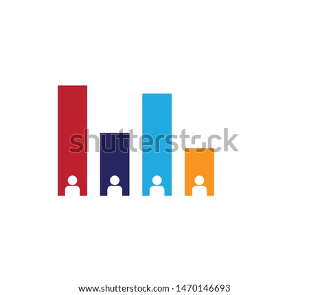 Exit polling icon vector illustration Stock photo ©