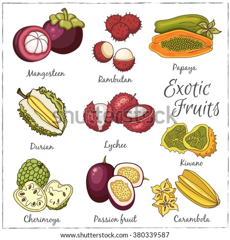 rare fruits healthy diet fruits
