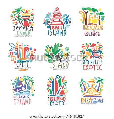 exotic islands summer vacation