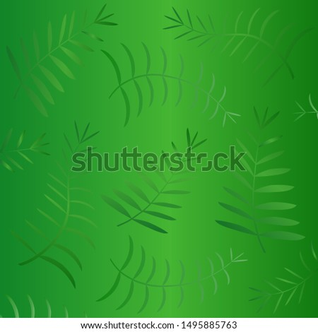 Exotic pattern with tropical leaves. Palm leaves. Tropical leaves. Jungle leaves. Summer leafs.,Vector illustration.