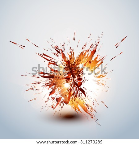 explode grunge background easy
