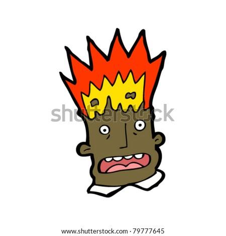 Head Explosion Cartoon Exploding Head Cartoon Man