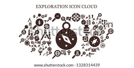 exploration icon set 93 filled