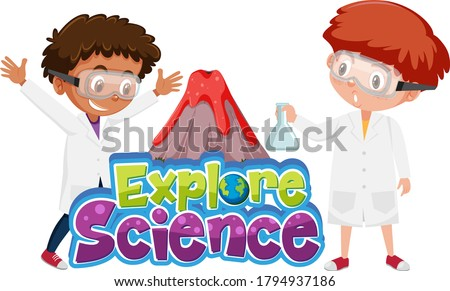 explore science logo and