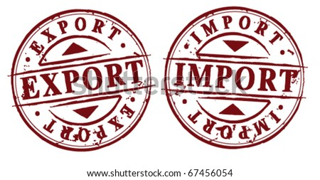 Export Import Stamps