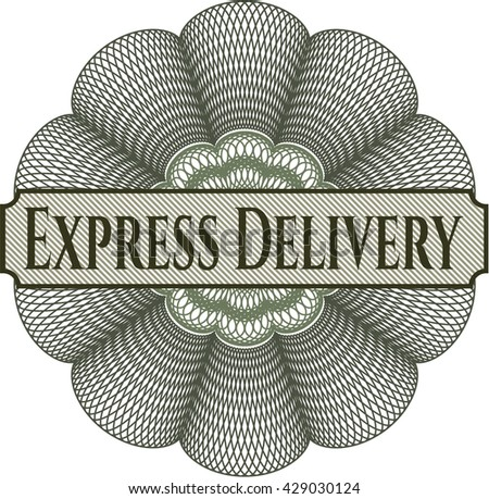 Express Delivery rosette