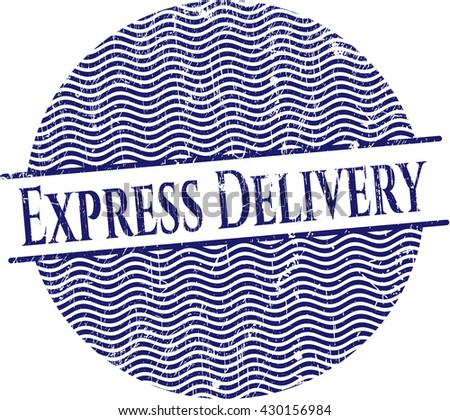 Express Delivery rubber texture