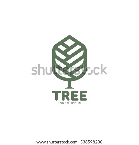 extended graphic tree logo
