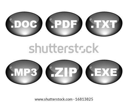 extension of different programs - stock vector