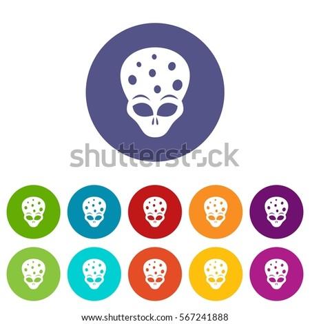 extraterrestrial alien head set