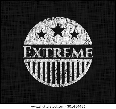 extreme chalk emblem