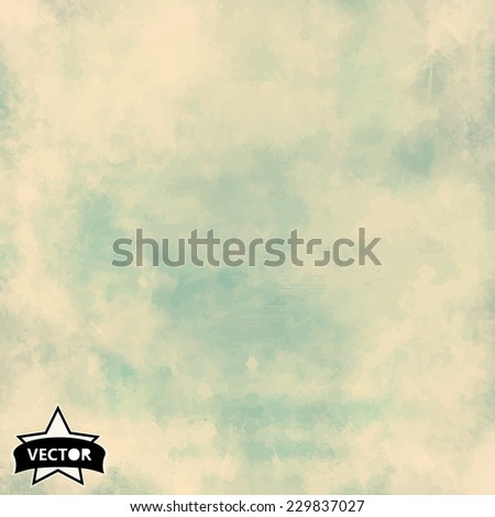 extured vintage paper vector background with grunge