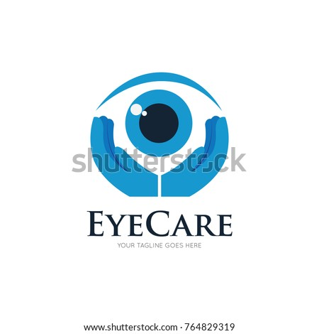 eye care logo, icon, symbol design template