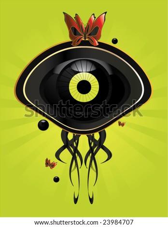 eye character image 7   vector