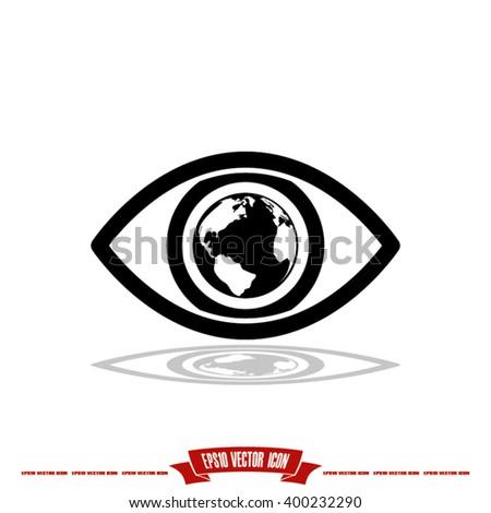 eye globe icon  eye globe icon