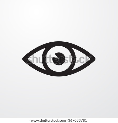 eye icon  eye icon eps10  eye