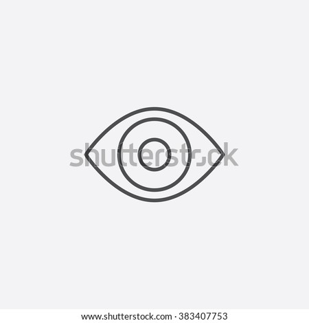 eye icon eye icon vector eye