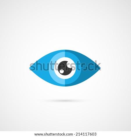 Eye icon vector icon