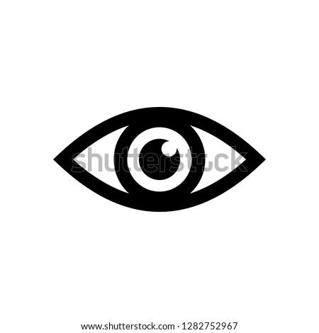Eye icon vector. Look and Vision icon. Eye vector icon