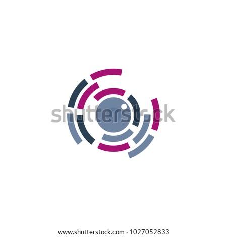 Eye lenses Logo Design