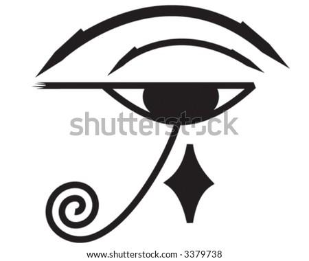 eye of horus symbol. stock vector : Eye of Horus